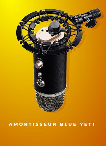 support amortisseur blue yeti