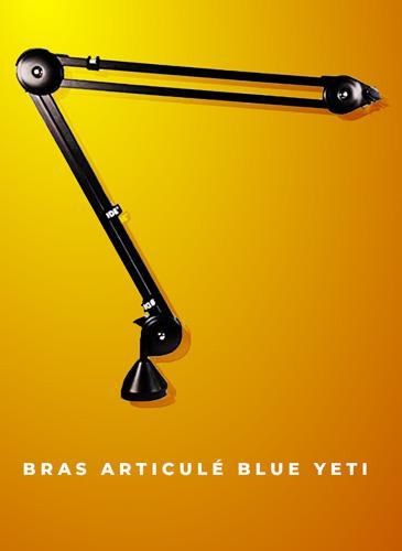 bras articulé pour blue yeti