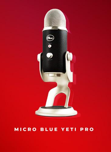 micro blue yeti pro
