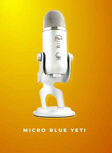 micro blue yeti