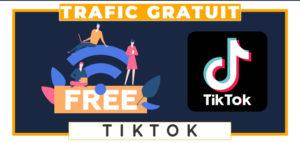 Tiktok trafic gratuit travail à domicile