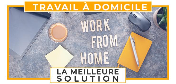 travail à domicile revenu internet